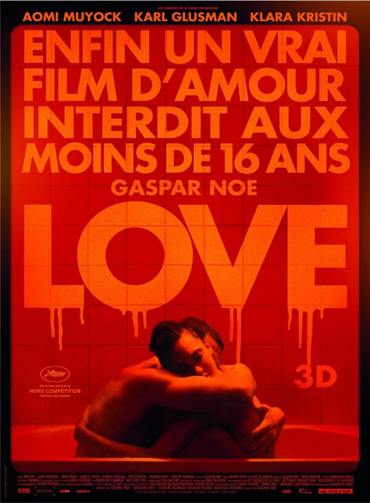 Love Gaspar Noé affiche