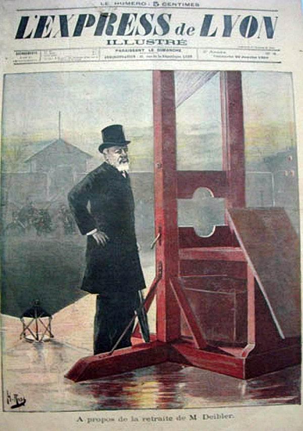 Louis Deibler L'express de Lyon
