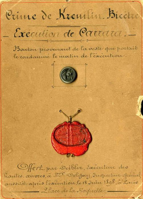 Louis Deibler exécution