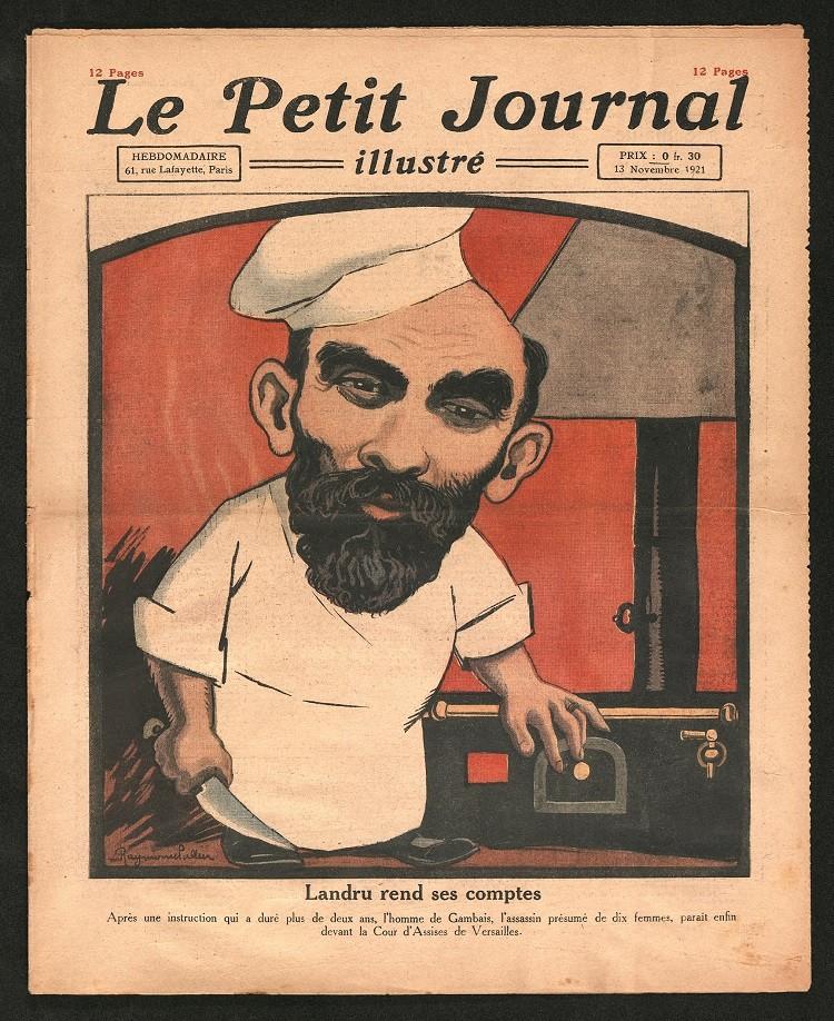 """La couverture du """"Petit Journal Illustré"""""""