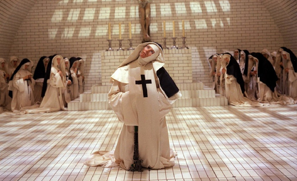 """Vanessa Redgrave dans """"Les Diables"""" de Ken Russell, adapté des """"Diables de Loudun"""" d'Aldous Huxley."""