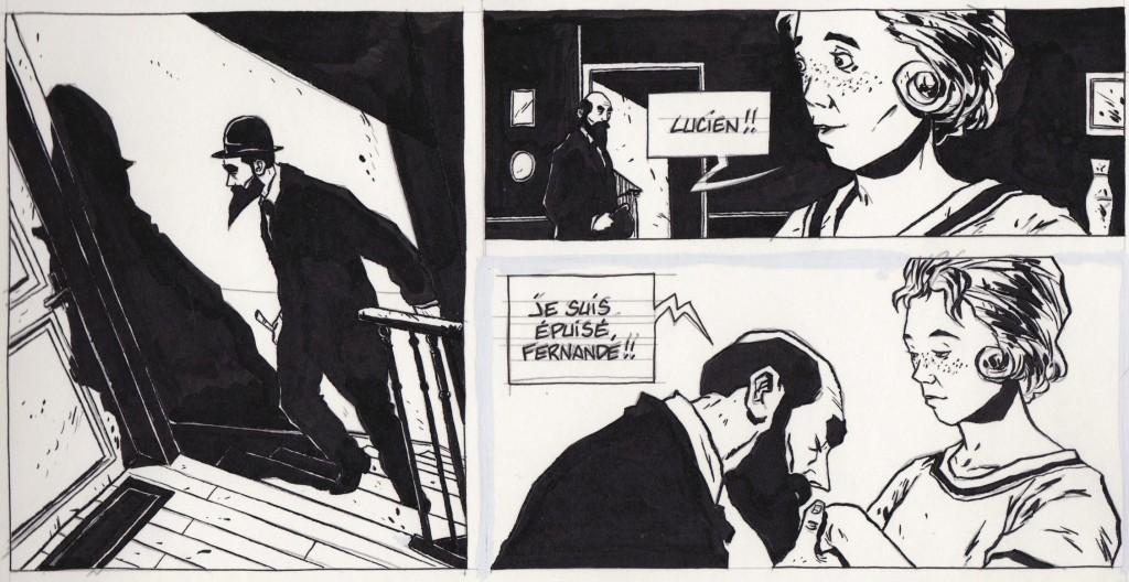 """""""Henri Désiré Landru"""", de Christophe Chabouté"""