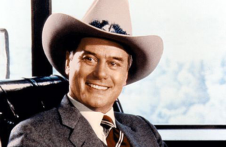 "J.R Ewing de ""Dallas"""