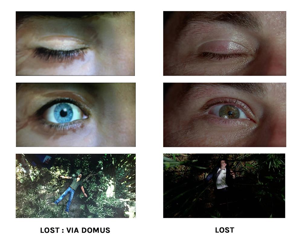 Ouverture de Lost Via Domus : comparaison avec la série