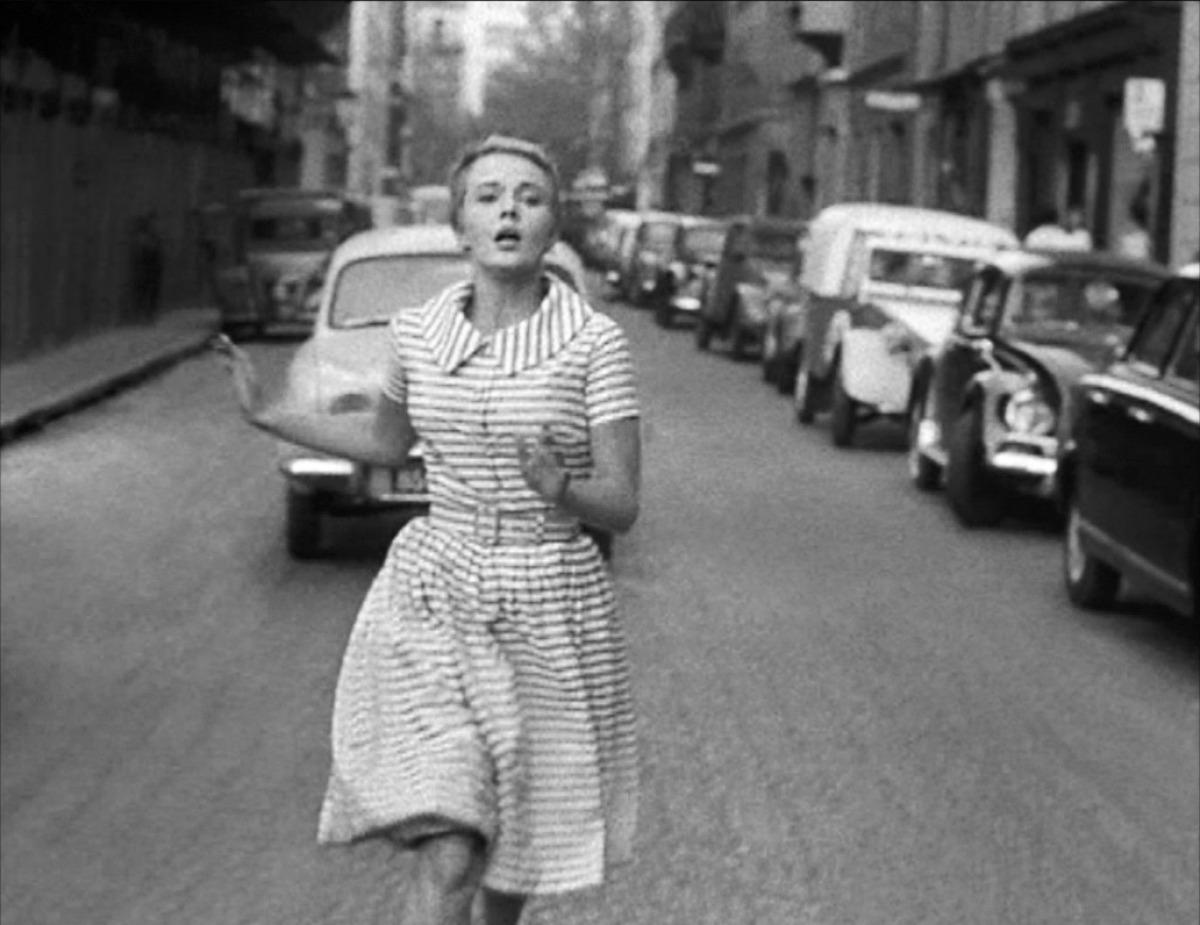 """""""À bout de souffle"""", écrit et réalisé par Jean-Luc Godard."""
