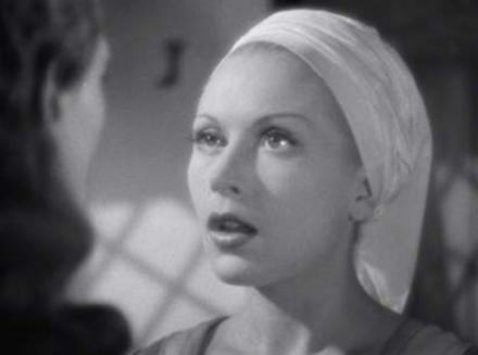 """Belle face à Avenant dans """"La Belle et la Bête"""" de Jean Cocteau (1946)"""