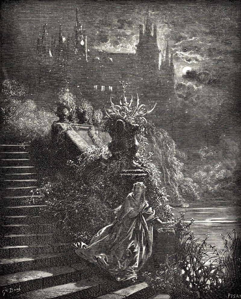 Illustration de Peau d'âne par Gustave Doré