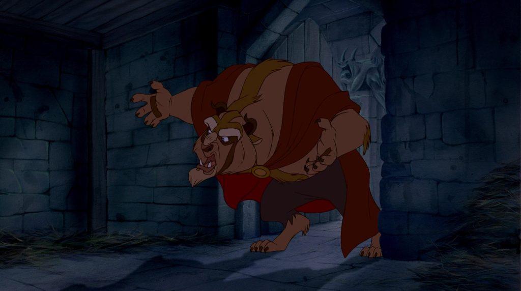 La Bête dans l'adaptation de Walt Disney