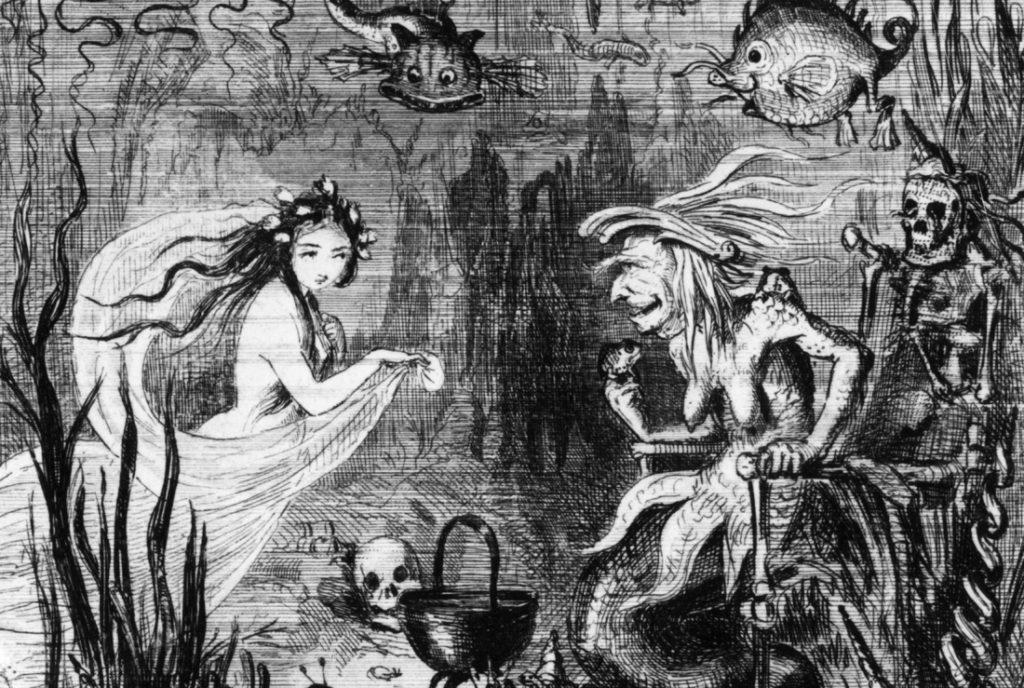 Illustration de La Petite Sirène de Hans Christian Andersen